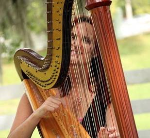 orlando country music harpist