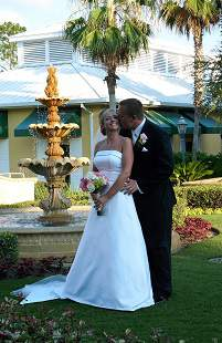 Wyndham Orlando Resort wedding Florida